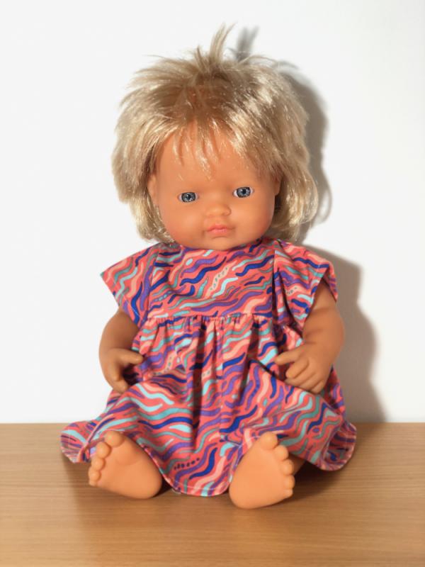 Dolls Dress Red Confetti