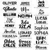 FONTS FOR PERSONALISATION